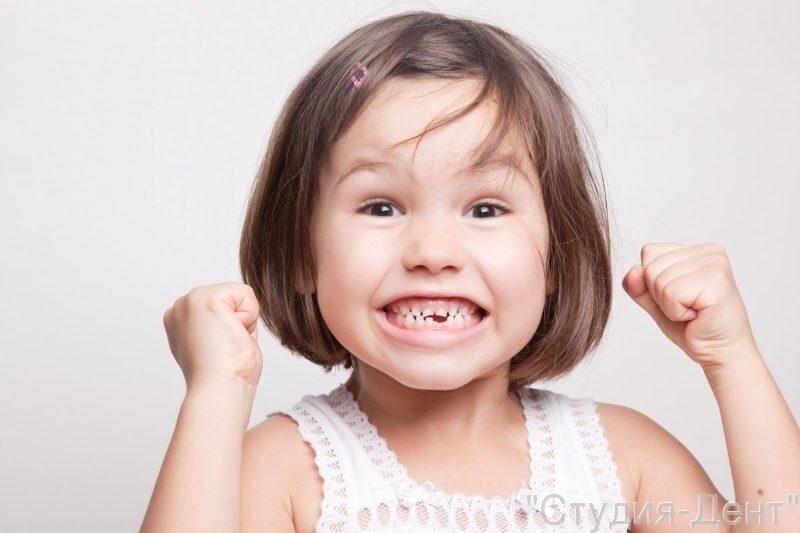 График обновления зубов у ребенка